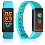 inDigi X6s Fitness Tracker & Watch Universally Compatible (iOS & Android) + Heart