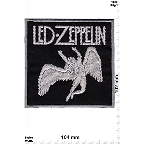 Patch - Led Zeppelin - HQ - MusicPatch - Rock - Chaleco - toppa - applicazione - Ricamato termo-adesivo - Give Away