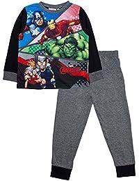 Boys Kids Official Marvel Avengers Incredible Hulk Iron Man Pyjamas 3-10 Years