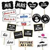 #9: Party Propz ™ Pre- wedding photobooth props 19 PCS/ Wedding props for photography