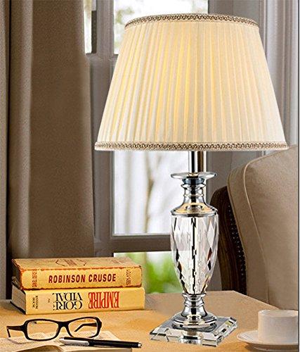 Luxe Art Décoration Cristal Lampe De Table Lampe De Table Chambre Tête De Lit Salon Cristal Lampe De Table