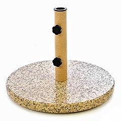 Granit grau 40cm rund