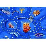 Disney Cars Collection carretera style la alfombra alfombra debe diseño de princesas Disney 95 x 133 cm
