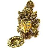 [Sponsored]Elite Brass Murti Of Lord Ganesha | Ganapathi | Vigneshwara | Ganpati Idol With Diya | Deepak On Trunk By Crafthut