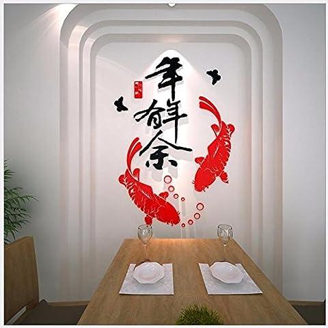 T-Mida Home,Specchio dolce creativo decorare la camera da letto soggiorno sala da pranzo TV sfondo muro estetica 3D acrilico stereo wall stickers,Tabacco da fiuto 72 * 110cm