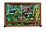Rettili Planet alluminio Elegance terrario con veinage in legno per Rettile/Amphibien 100x 45x 50cm