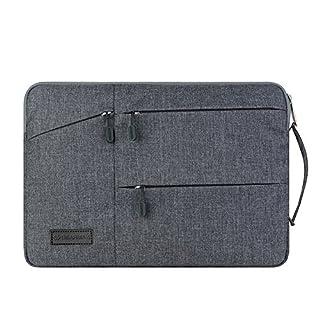Acxeon Business Laptop Netebook Hülle Sleeve Tasche einfachen Stil Wasserabweisendes Nylongewebe Notebook Sleeve für MacBook Air / Pro Retina, Surface pro4, Ultrabook /Netbook (13.3