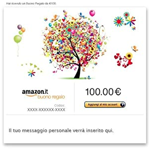 di Buoni Regalo Amazon.it (2837)  Acquista: EUR 100,00