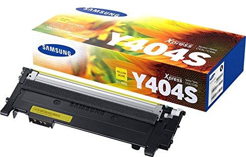 100% Neu Toner Patrone (Samsung CLT-Y404S Toner, gelb)