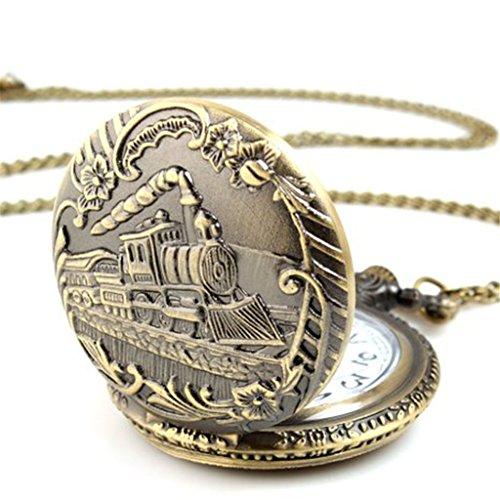 kolylong-unisex-antique-case-vintage-brass-rib-chain-quartz-train-pattern-pocket-watch
