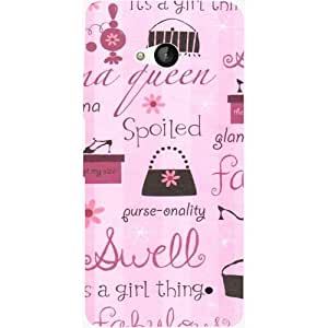 Casotec Its A Girl Thing Design Hard Back Case Cover for Microsoft Lumia 550