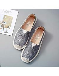 Promozione delle vendite stile classico del 2019 primo sguardo Amazon.it: dorate - Mocassini / Scarpe da donna: Scarpe e borse