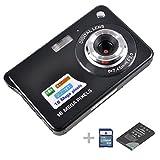 Digital Camera,emee 2.7 inch TFT LCD Screen Anti-shake 8x Digital Zoom HD 720P 18 Mega Pixels CMOS Sensor Compact Video Camcorder [ Include SD Card , Battery and UK Adaptor] (Black) - emee - amazon.co.uk