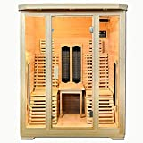Cabine Infrarouge Trade-Line/Cabine chauffante/Sauna - ECK pour 2 Personnes