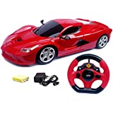 MW Toyz Steering Remote Control Racing Car, Assorted Colors