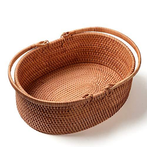 XBR Rattan - Hand - korbs Warenkorb, Picknick - Korb, Geschenk - Korb,b (36: 26 (fuß) (Warenkorb-geschenk-korb)