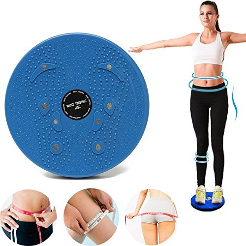 Dealcrox 4 in 1 Magnetic Disk Hot Sweating Body Shapers Slimming Tummy Twister Rotating Machine Cincher Girdle for Weight Loss Women & Men