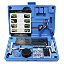 MAIKEHIGH Reifen Reparaturset, Heavy Duty Reifenreparaturset Auto- 67 Stück Set für Motorrad, ATV, Jeep, LKW, Traktor Flat Reparatur Set