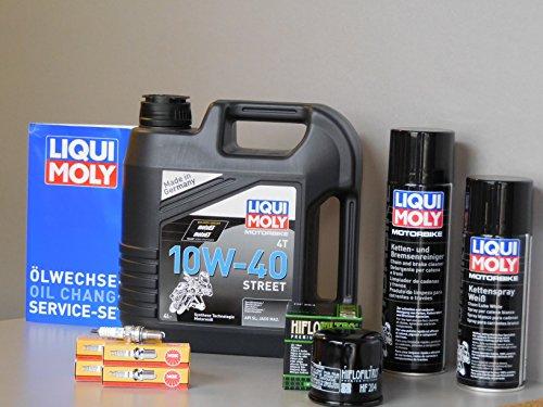 Kit di manutenzione Motocicletta Honda CB 600F Hornet Service ispezione candela olio
