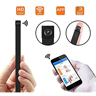 Anviker Wifi Hidden Spy Camera, 1080P Wireless Super Mini Security Camera Video with Motion Detection, App Control for IOS and Android