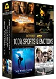 Coffre 100% sports & emotions : all things fall apart ; le boxeur ; the freediver ; le guerrier pacifique [FR Import]