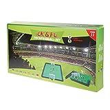 Kick&Fun Tischfußball-Set Version 11 Komplett-Set Fußballbrettspiel für Kinder und Erwachsene Fußballspiel mit Bande