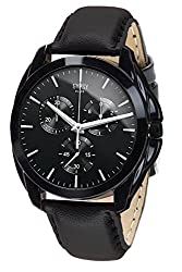 Gypsy Club Classic Analogue Black Dial Watch for Men & Boys - GCM168