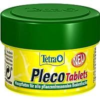 Tetra Pleco Tablets – Nährstoffreiches Hauptfutter für alle pflanzenfressenden Bodenfische (z.B. Welse), verschiedene…