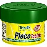 Tetra Pleco Tablets - Nährstoffreiches Hauptfutter für alle pflanzenfressenden Bodenfische (z.B. Welse), verschiedene Größen