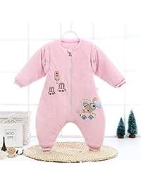 CLLCR Saco de Dormir para Bebé - Saco de Dormir para Las Piernas del Bebé/Otoño E Invierno Engrosamiento Pijamas para Bebés Recién…
