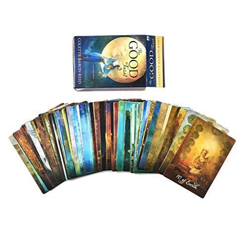 Chou Tarotkarte, 78 Stück, englischsprachig, Tarot-Divination Prophecy Destination Guidance