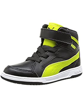 Puma Rebound V2 Hi 356809/07, Baby Jungen High-Top Sneaker