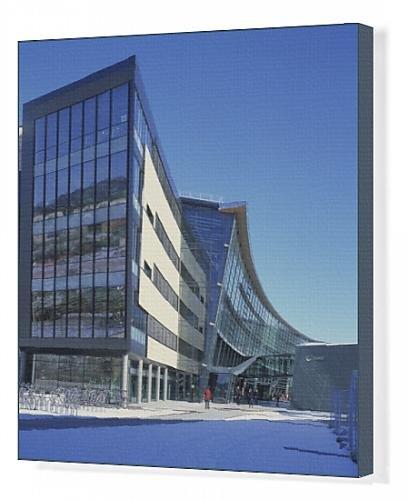 canvas-print-of-headquarters-telenor
