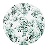 Platzset Platzset weiß/grün/Blume 4er Set aufgebaut Größe Ø 37 cm Material Polypropylen Kunststoff