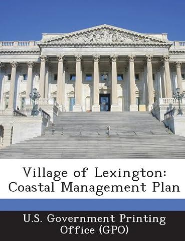 Village of Lexington: Coastal Management Plan
