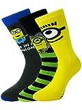 HDUK Mens Socks -  Calze  - Uomo Nero Yellow