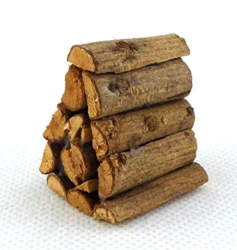 Preisvergleich Produktbild Puppenhaus Miniatur Kamin Brennholz Burner Yard Zubehör Stapel Flor von Brennholz