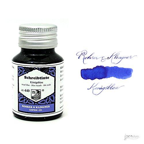 Rohrer & Klingner * dal 1892* inchiostro per penna stilografica-blu reale-50ml