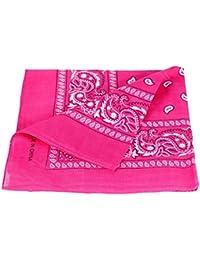 Bandana 100% coton, environ 54 x 54 cm Paisley foulard accessoire vêtement 0b78a6e0005