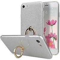 iPhone 7 Hülle Ring, Tasche Hülle für iPhone7, Moon mood® [Weiche TPU Abdeckung + Glitzer Papier] 2 in1 Hybrid... preisvergleich bei billige-tabletten.eu