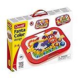 Quercetti 0900 - Mosaik-Steckspiel Fanta Color Design