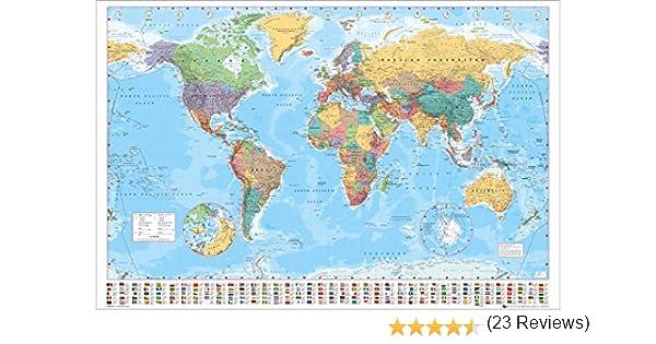 poster grand format 61 x 91.5 cm Gb eye ltd drapeaux du monde