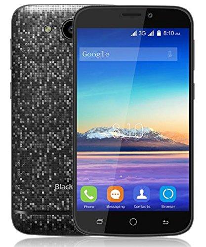 Blackview A5 3G Dual SIM Smartphone - 4.5 pouces Ecran MTK6580 Quad Core 1.3GHz 1 Go RAM 8 Go ROM double caméra arrière en mosaïque - Noir