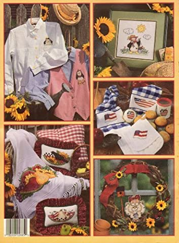 More sunflowers and snickerdoodles: 13 designs (Leisure Arts leaflet)