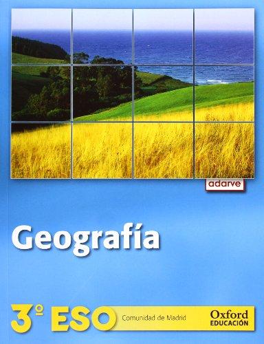 Geografía 3.º ESO Adarve (Comunidad de Madrid) - 9788467359411