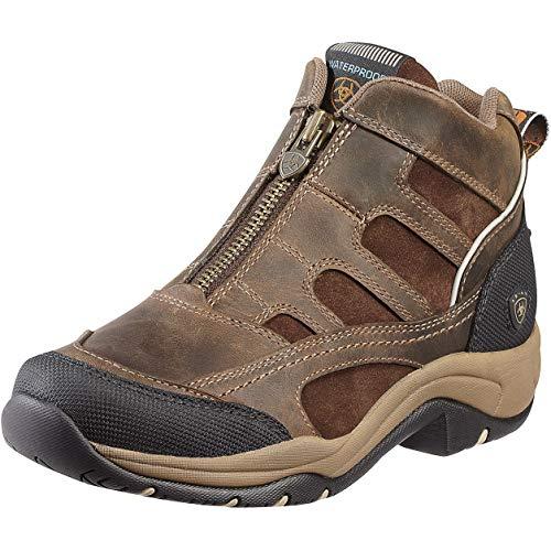 Ariat ' Womens Short (Ariat Womens Terrain H20 Zip Short Riding Boots UK 6.5 Brown)