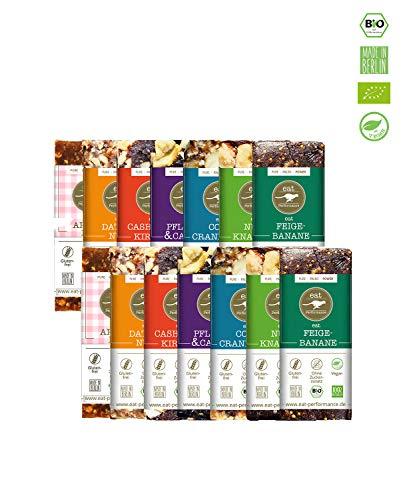 eat Performance® Big Box Energie Riegel (14x 40g) - Bio, Paleo, Vegan Aus 100{51c87d534ece1528393e0db275ee0385e300af271b536bad85085e63b84146c8} Natürlichen Zutaten