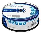 MediaRange MR503 BD-R Blu-ray Disc (25GB 4 x Speed, 25 Stück)