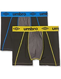 Umbro Packx2, Boxer Homme, (lot de 2 )