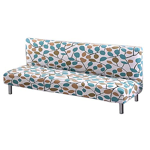 Funda de sofá sin Brazos Estirar sofá Cama Protector de slipcover elástico...